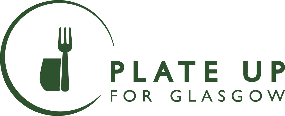 Plate up for Glasgow Logo