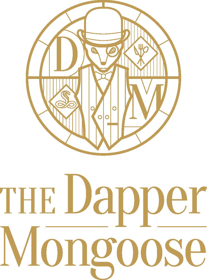 Dapper Mongoose Logo - Gold